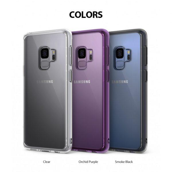 Ốp lưng chống sốc hàng hiệu Ringke Fusion cho Galaxy S9