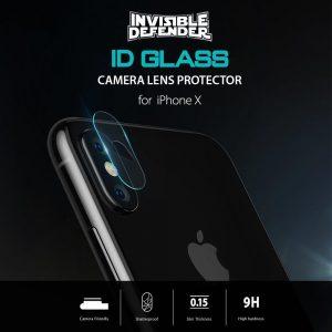 Kính cường lực bảo vệ camera hiệu Ringke cho iPhone X