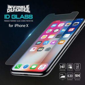 Kính cường lực hàng hiệu Ringke Invisible Defender Glass cho iPhone X